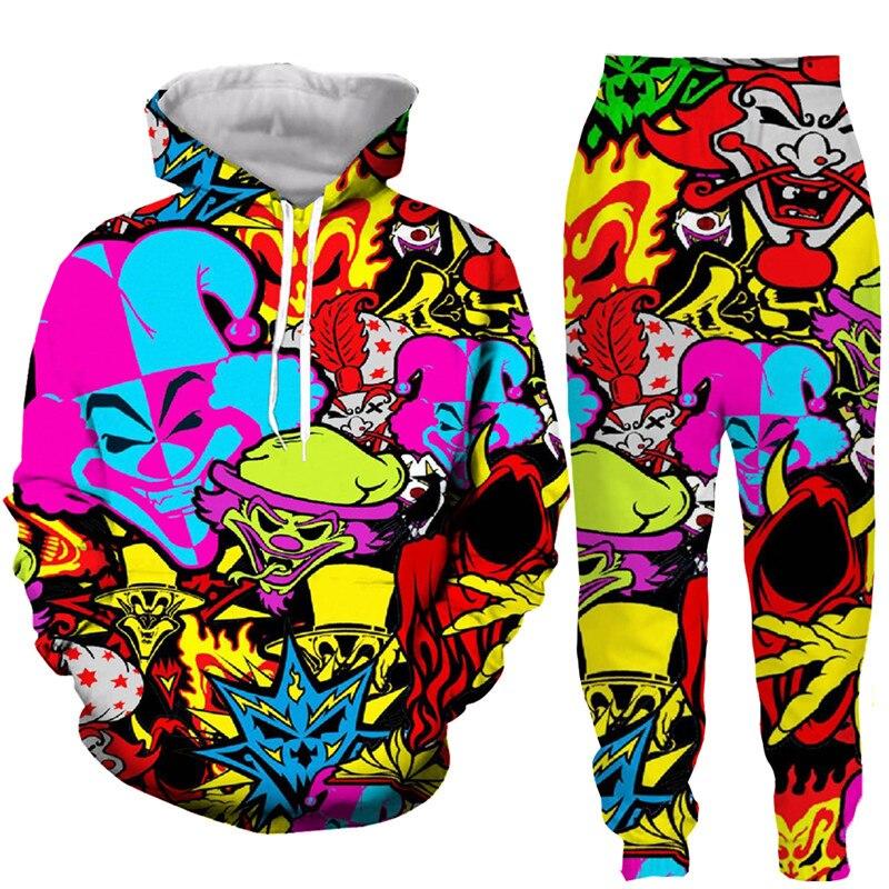 New Fashion Men//Women/'s Insane Clown Posse 3D Print Sweatshirt Hoodies Pullovers