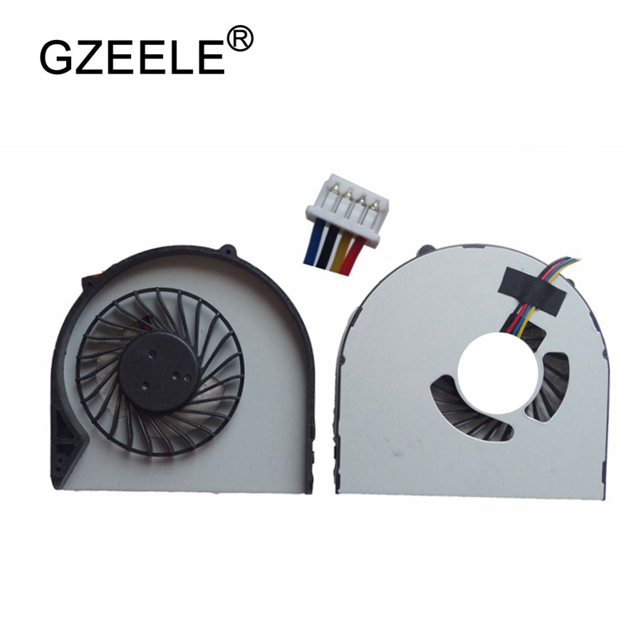 GZEELE NEW Laptop Cpu Cooling Fan For Lenovo B480 B480A B485 B490 M490 M495 E49 B580 B590 V480C V580C Notebook Cooler Fan 4 Pin