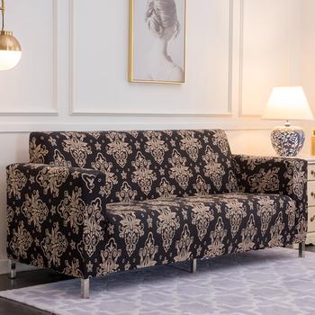 Elastyczna narzuta na sofę Slipcovers L shape narzuta na sofę s do salonu elastan tanie przekrój narzuta na sofę 1 2 3 4 Seater Stretch tanie i dobre opinie 1 2 3 4 seater sofa cover F000212 Połączenie zestaw Gładkie barwione Nowoczesne Stałe Sofa przekroju Poliester bawełna
