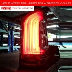 SVSPS тюнинг задний светильник для Mercedes Benz VITO V250 V260 V260L задний светильник s светодиодный w447 DRL ходовой светильник s противотуманный светильник s ...