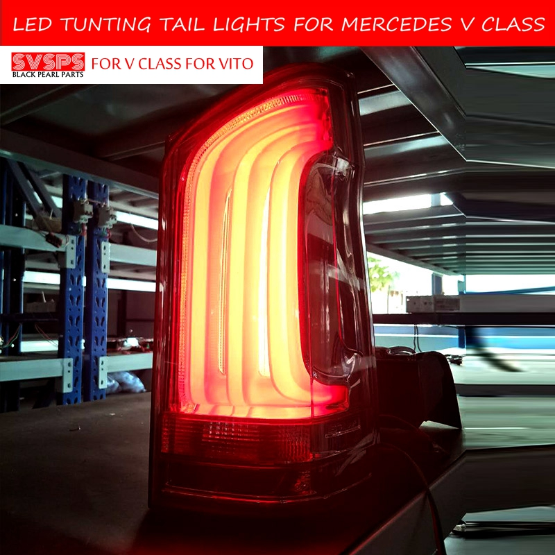 SVSPS Tuning  Tail Light For Mercedes Benz VITO V250 V260 V260L Taillights LED W447 DRL Running Lights Fog Lights Rear Park