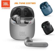Officiële Jbl Tune 225TWS Draadloze Bluetooth Koptelefoon Jbl T225TWS Stereo Oordopjes Bass Sound Hoofdtelefoon Headset Met Microfoon