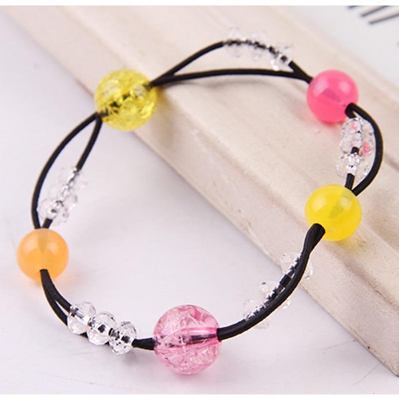 DIY Handmade Beaded Girl Weaving Necklac Bracelet Jewelry Making Educational Toys Letter Heart Love Shape Square Round Beads