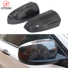X6 E71 Carbon Mirror Cover For BMW E70 X5 RearView side mirror cover add on&Replacement style 2007 2008 2009 2010 2011 2012 2013 carbon fiber wing mirror cover for bmw e82 e87 2007 2008 add on style