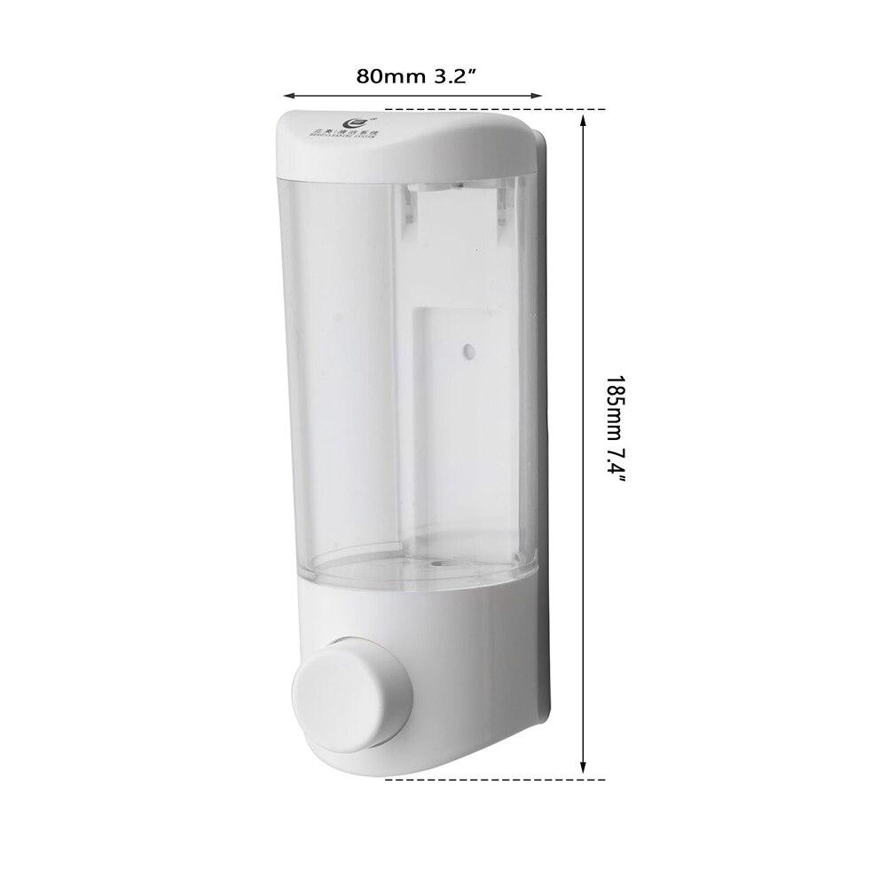 ABS Hand Liquid Soap Sanitizer Lotion Dispenser Liquid Good Quality Foam Dispenser Bottle Box For Kitchen& Bathroom