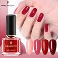 BORN PRETTY лак для ногтей 63 Цвета красная телесная Серия 6 мл Блестки для ногтей лак быстро сохнет лак для ногтей дизайн