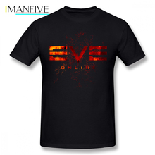 Eve Online T Shirt T-Shirt 4xl Printed Tee Streetwear Fun Short-Sleeve 100 Percent Cotton Men Tshirt
