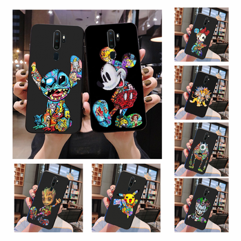 цена на NBDRUICAI marvel Groot Joker Stitch Cover Black Soft Shell Phone Case For Oppo A5 A9 2020 A11x A71 A73S A1K A83 case