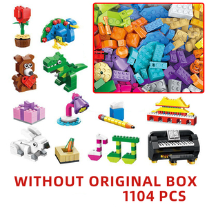Image 4 - 1000 pcs parts pieces Creative Designer DIY Toys building blocks MOC creator Classic sets removal pliers panel tools kits