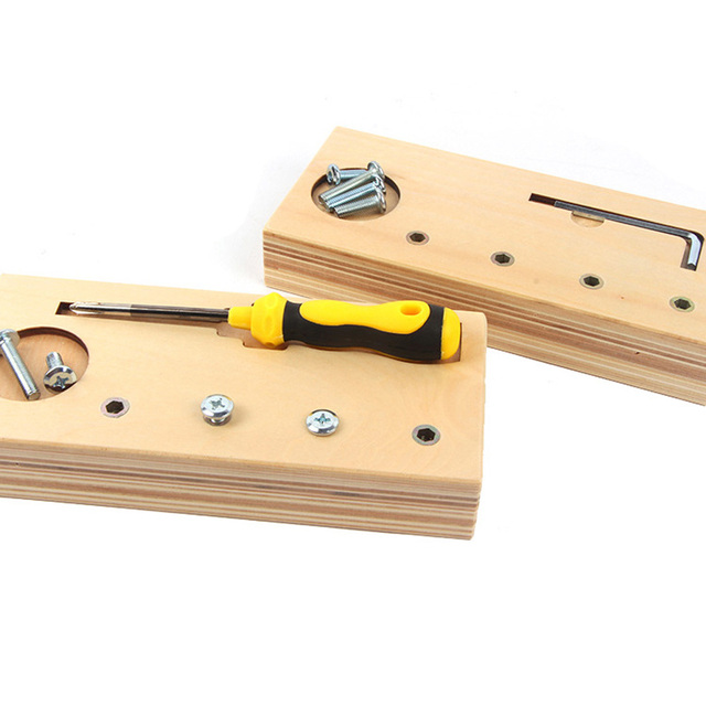 Set of Bolts and Screwdriver