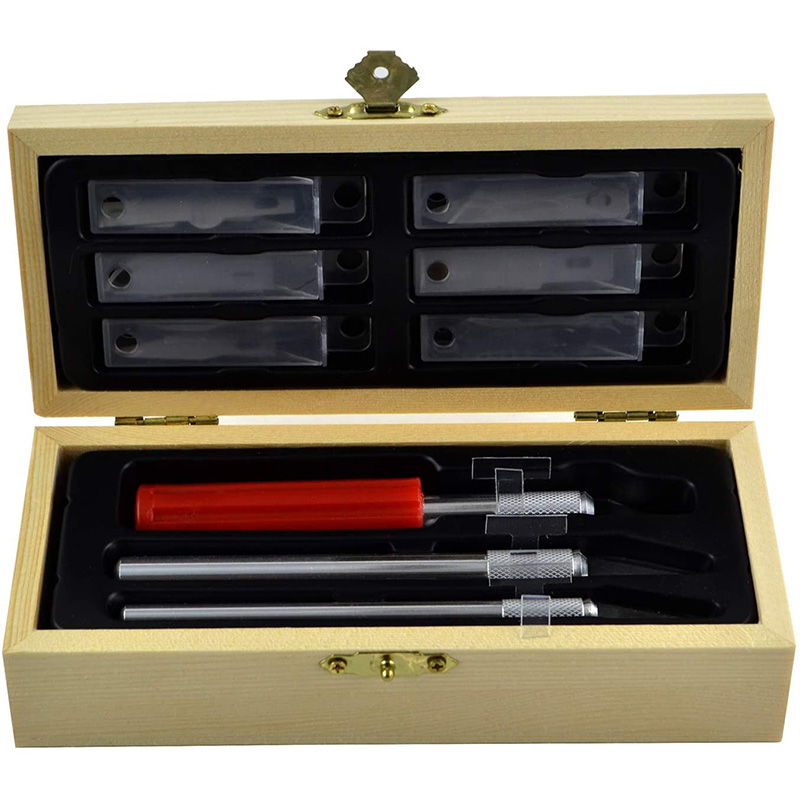 Прецизионный нож с лезвием, ремесло, набор ножей, деревянный нож с точным лезвием для творчества