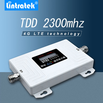 Lintratek TDD 2300mhz smart signal repeater BAND 40 4G LTE 2300mhz-2400mhz mobile Cell phone signal booster amplifier - фото