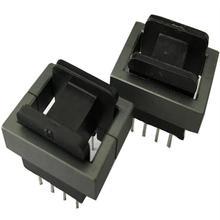 EE19 8pin balun bead EE19 con 4 + 4pin verticale bobina induttore di ferrite core RF choke di ferrite, 50 set/lotto