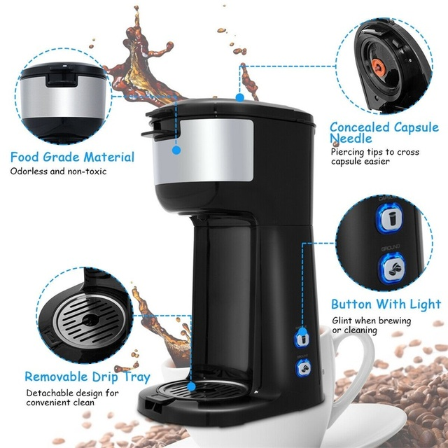 Portable Coffee Maker for Ground Coffee  6