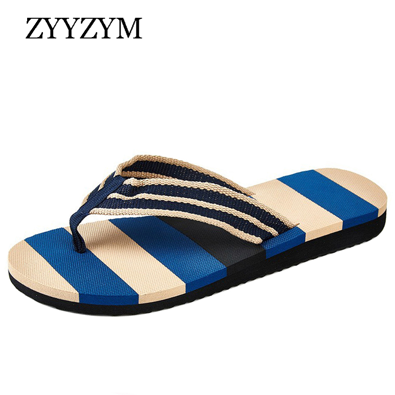 ZYYZYM Men Flip Flops Slippers Summer Unisex Anti-skid Outdoor Light Casual Beach Male Sandals Household Pinch Slipper
