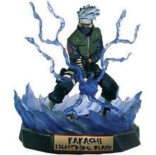 Naruto shippuden hatake kakashi estátua figura de ação pvc estatueta brinquedo coleção anime figura brinquedos boneca 19cm