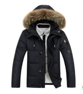 2019 Новые популярные модели зимние толстые мужские большие размеры мужской пуховик большой меховой воротник куртка OEM