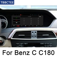 For Mercedes Benz C Class C180 2011~2014 Car Android System 1080P IPS LCD Screen Car Radio Player GPS Navigation BT WiFi AUX Map octacore android 8 0 4 32gb 10 25 ips screen car dvd player gps navigation for mercedes benz c glc gls w205 glc x253 2014 2017