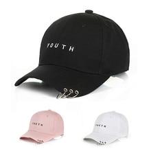 Новая регулируемая Молодежная бейсбольная шляпа с кольцом, хлопковые Кольца Wild, с буквенным принтом, Snapback, Корейская бейсболка, модная пара,...
