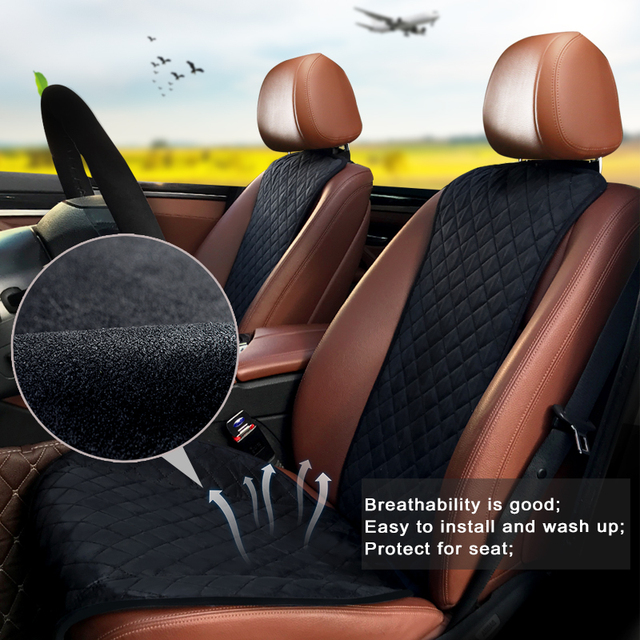 $ US $31.50 Car Seat Covers Universal Compatible With 100% Vehicles Car Seat Protector Covers Car-styling Seat Cushion Automovil Accessories