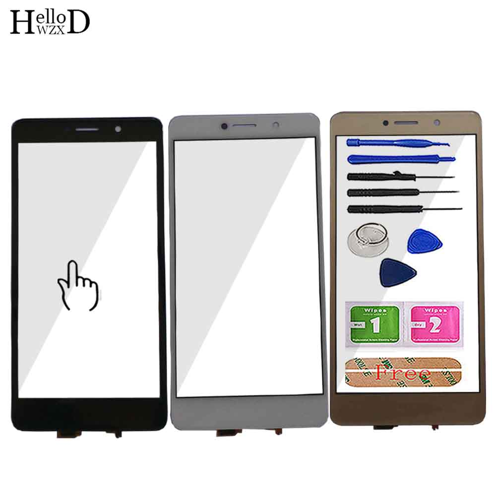 Touch Screen For Huawei Mate 9 Lite Honor 6X GR5 2017 Touch Screen Digitizer Panel Sensor Glass Lens Panel Repair Tools Adhesive
