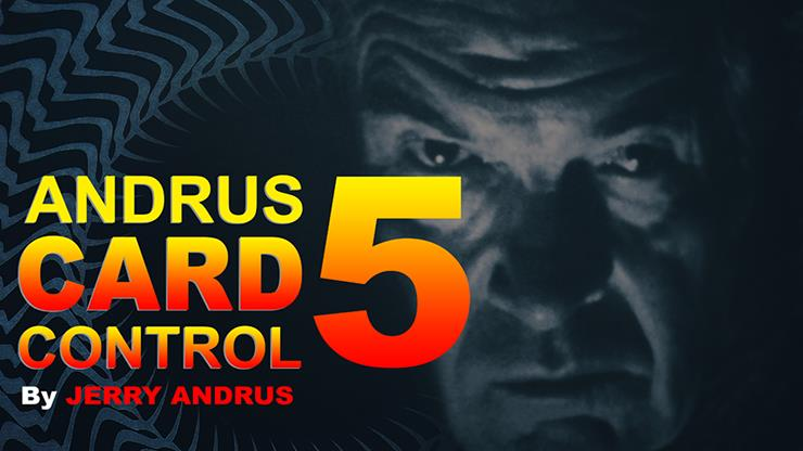 Andrus Card Control 5 By Jerry Andrus,Magic Tricks