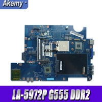 NAWA2 LA-5972P için lenovo G555 dizüstü G555 laptop anakart NAWA2 LA-5972P anakart GPU Test orijinal anakart