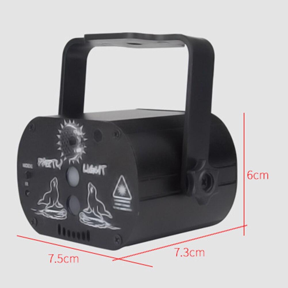 graus rotação manual usb recarregável projetor luz