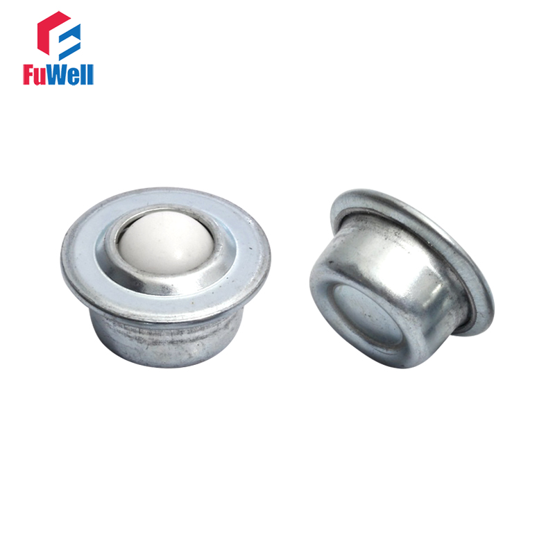 2pcs Ball Transfer Unit Nylon Transfer Bearing Conveyor Roller Wheel CY-8H/12H/15H/22H/30H Mini Roller Ball Transfer Bearing