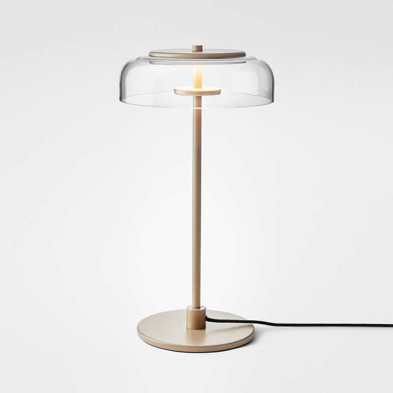 Postmodernistyczna lampa do salonu szklana lampka nocna sypialnia projektant Model lampa pokojowa Nordic lampa stołowa