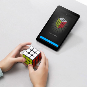 Image 2 - Original XIAOMI Original Bluetooth Magic Cube Smart Gateway Linkage 3x3x3 Square Magnetic Cube Puzzle Science Education Toy Gift