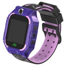 Smart watch dzieci SOS Antil-lost Smartwatch dla dzieci 2G karty SIM zegar otrzymać telefon zwrotny od lokalizacja Tracker zegarki Smartwatch PK Q50 q90 Q528 tanie tanio MOCRUX Brak Na nadgarstku Wszystko kompatybilny 128 MB Passometer Budzik Naciśnij wiadomość Odpowiedź połączeń