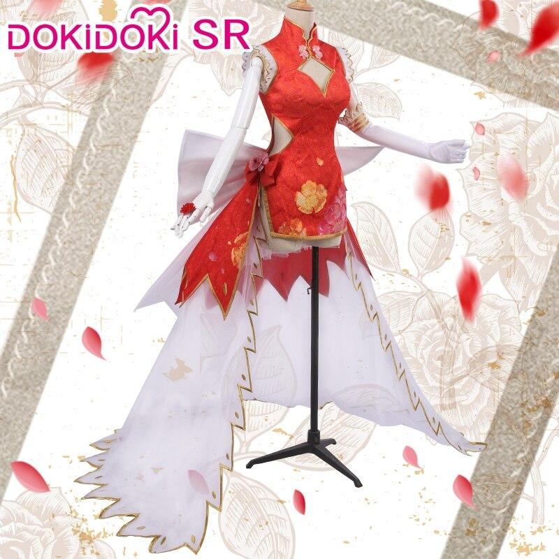 DokiDoki-SR Game Fate Nero Claudius Caesar Augustus Germanicus Saber Cosplay Costume Women Fate Nero Cosplay Dress Saber 2