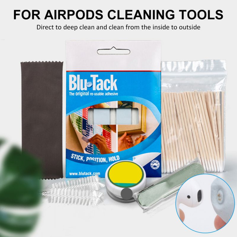 Cotton Disposable Stick Cleaning Tool For Air Pods Earphone Phone Charge Hole Port Kit