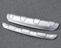 High Quality Stainless Steel Front And Rear Bumper Skid Protector Plate Cover For Mazda Cx 5 2017 2019 Car Styling 2pcs/set