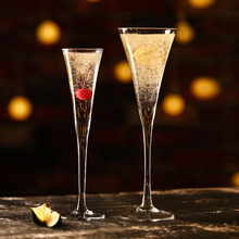 INS V-shape Свадебные бокалы для шампанского в форме трубы Коктейльные бокалы для бара для домашнего использования смесь бокалов для мартини ром сверкающий бокал для вина