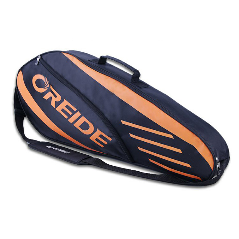 Waterproof Badminton Bag Racket Tennis Backpack Large Capacity For 3-6 Rackets Single Shoulder Lightweight Sports Accessories
