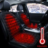 Car seat heating pad Car Heating Seat Cushion Cover Winter Heater Cushion Warmer Car Covers Heated Seat Pad Temperature Controlled Auto Seat Accessories