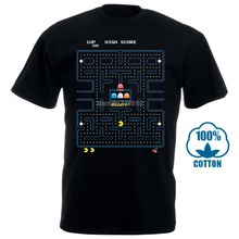 Pac-Man Game Start Video Game Pacman Doodle Good Quality Cotton Men And O-Neck C