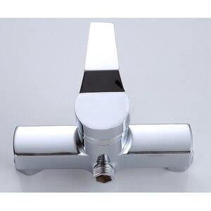 Image 4 - 1 pc お風呂シャワーの蛇口コールドとホット水耐久性のある亜鉛合金ウォールマウント水制御バルブ混合弁浴室蛇口