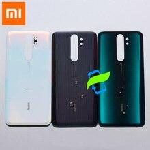 Оригинальный Для Xiaomi Редми Примечание 8 Профессиональная Задняя Крышка Аккумулятор Назад Корпус Стекло Чехол Для Редми Note8 Про Задние Двери Задняя Крышка