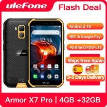 Ulefone Armor X7 Pro Robuuste Smartphone 4Gb Ram Android 10 Mobiele Telefoon IP68 Quad-Core Nfc 4G mobiele Telefoon Waterdichte