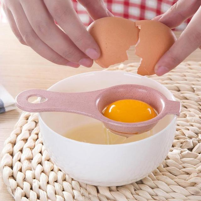 Egg White Yolk Separator Tool Food-grade Egg Baking Cooking Kitchen Tool  Hand Egg Gadgets Tools Egg Divider Sieve Seperator 5