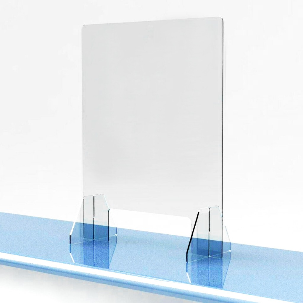 Acrylic Sneeze Guard Shield Protection Safe Counter Top For Restaurant Grocery Stores Salons Retailers Health Manage 35x45cm z1