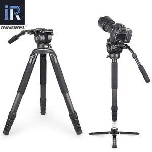 Image 5 - Innorel H90 비디오 유체 삼각대 헤드 공급 업체 합금 CNC 기술 전체 풍경 조류 헤비 듀티 안정적인 15kg 댐핑로드