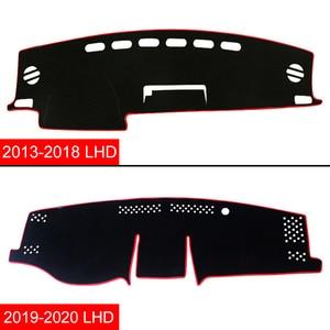 Image 4 - トヨタRAV4 2013 2016 2017 2018 2019 2020 lhd/rhd車のダッシュボードカバーマット回避ライトパッド抗uvカバーカーペットアクセサリー