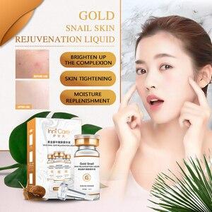 Image 3 - Innicare Lumaca Oro Viso Siero Crema Viso Liquido 24K Oro Essenza Anti Invecchiamento Antirughe Idratante Nutriente Cura Della Pelle di Bellezza
