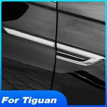 Vtear Pour VW Tiguan MK2 2020-2017 Accessoires 4 motion Emblème D'origine porte Côté Emblème ABS autocollant Extérieur de Voiture de Garniture De Style