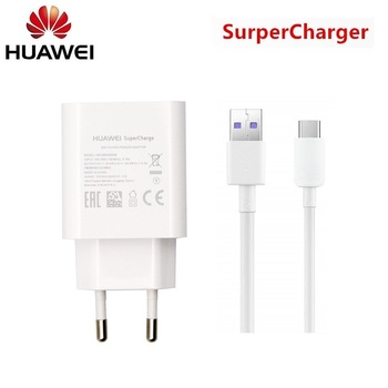 Original Huawei Supercharge USB Fast Charger Adapter Type C Data Cable For P10 P20 p30 p40 plus Mate 9 10 pro 20 Honor 20 V20