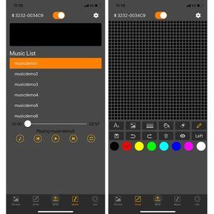 Image 5 - Volle farbe drahtlose bluetooth App control auto LED Scrollen GEFÜHRT Zeichen, Fahren anweisung, Bild GIF Licht